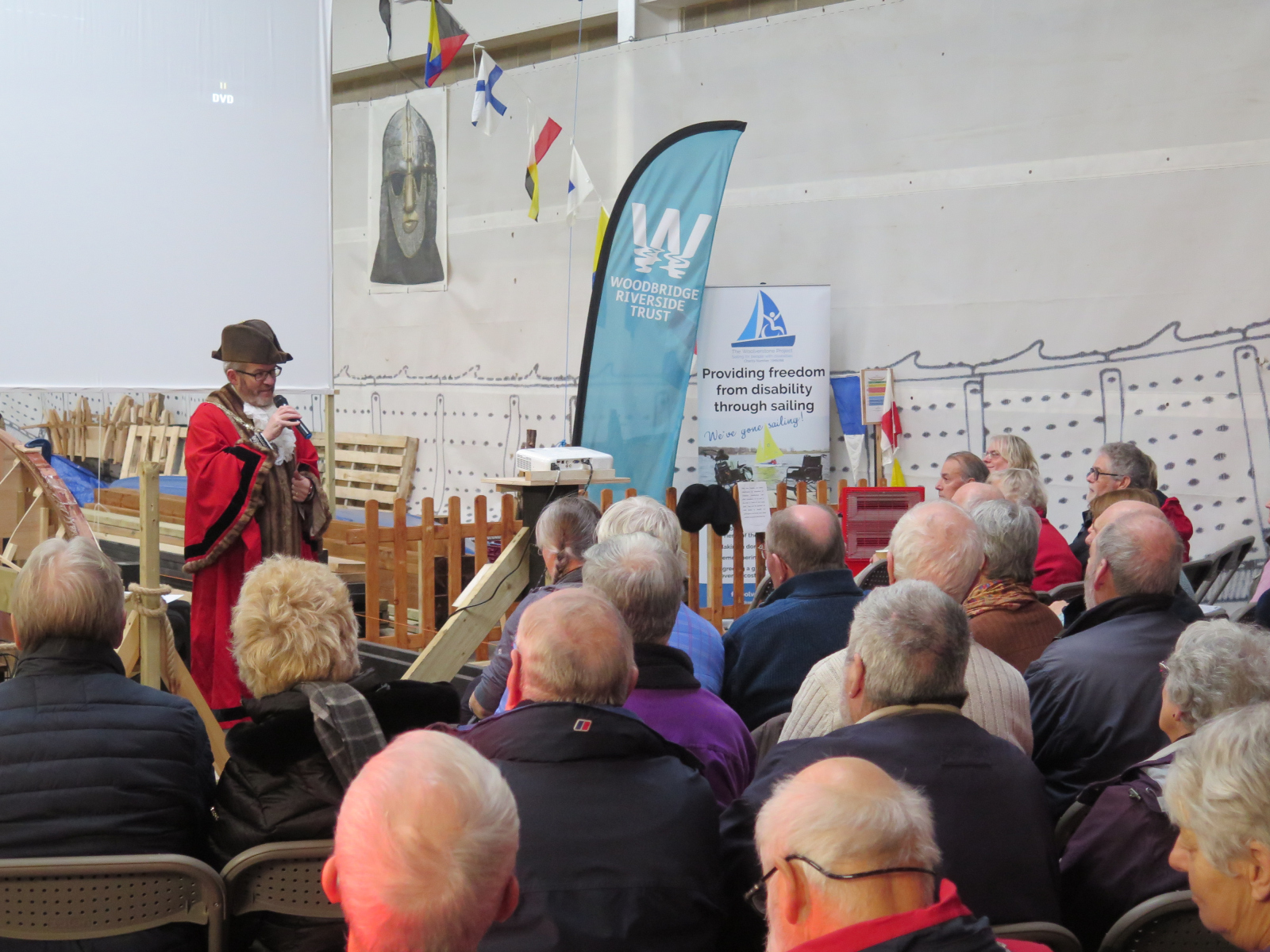 Opening ceremony - Mayor of Woodbridge