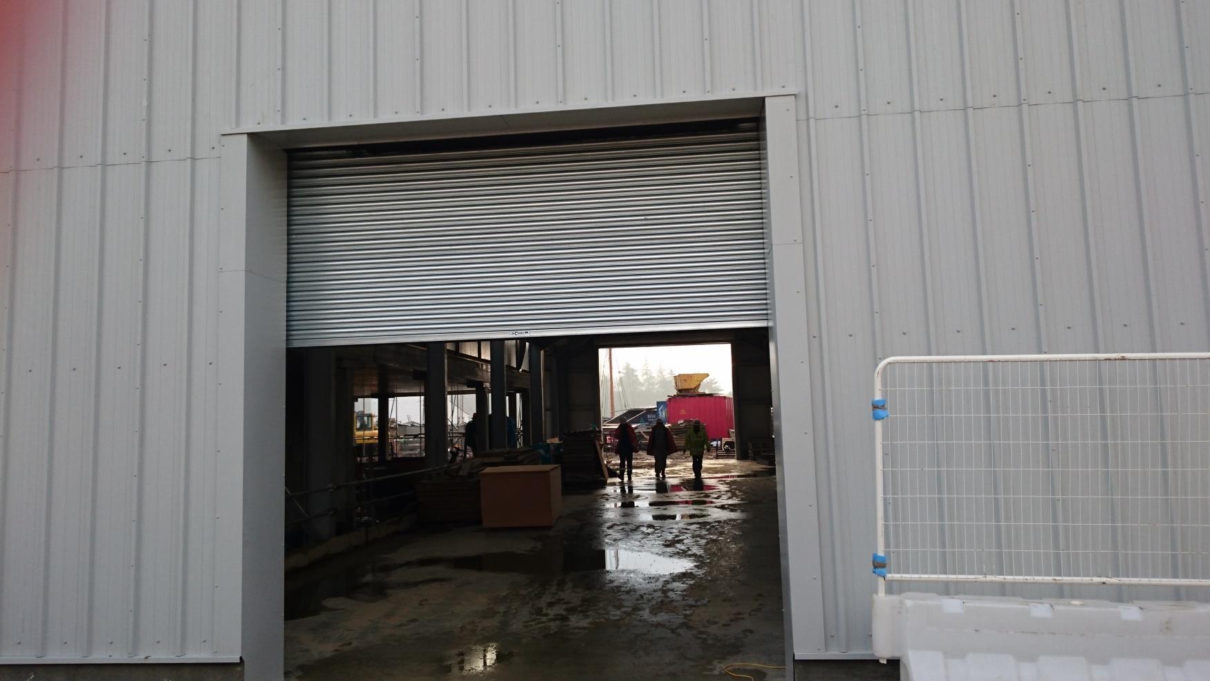 Roller-doors-installed