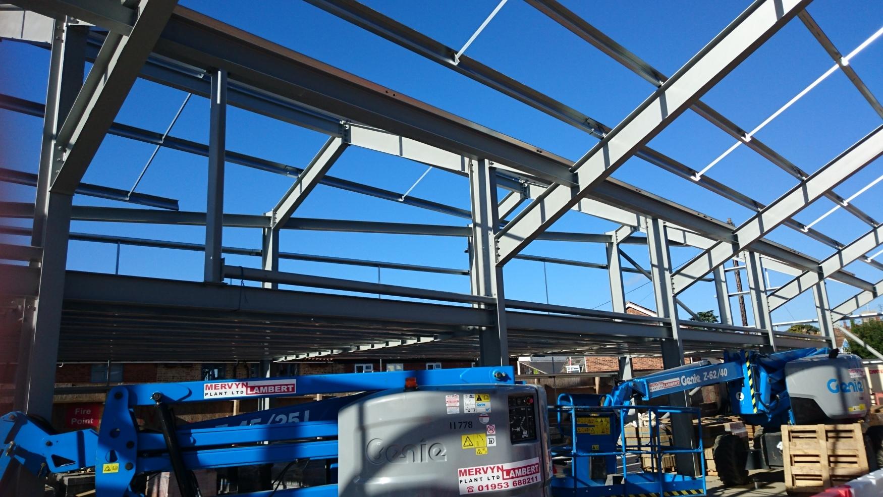 Roof-steelwork