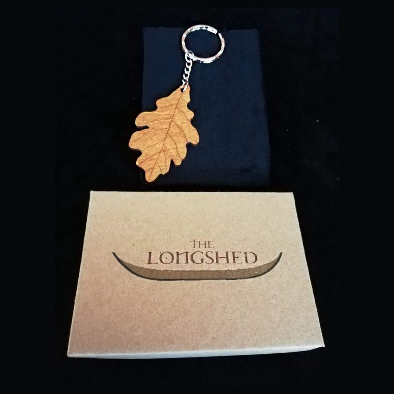 Oak Leaf Keyring