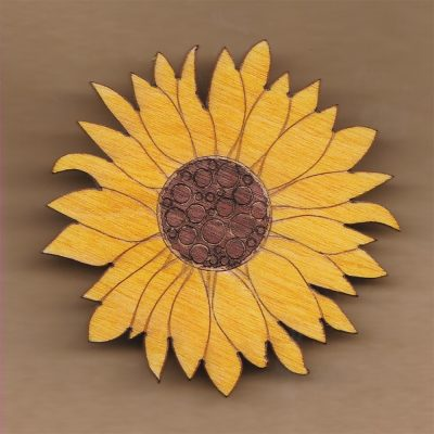 Sunflower Broach