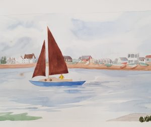 Deben Discovery; Paintings and pictures @ The Longshed Gallery